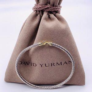 💛David Yurman Buckle 18k Collectible Bracelet💛